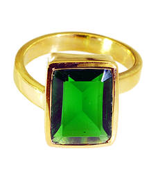 Buy scenicbonny Emerald Copper Green Ring suppilerin Ring online