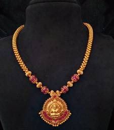 Buy Laxmi pendent necklace Necklace online