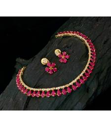 Buy Pink Agate gold_plated necklace-sets necklace-set online