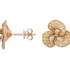 Buy 1.63ct diamond White gold Precious gemstone-earrings gemstone-earring online