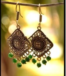 Buy Exclusive Oxidized Royal Jhumka navratri-jewellery online