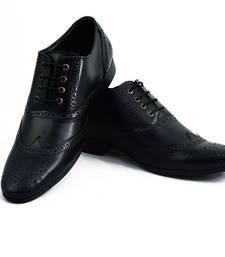 Buy Black Brouge Lace Up Shoes men-shoe online