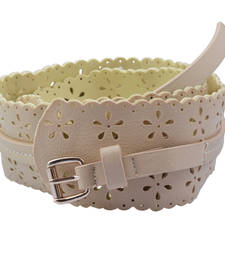 "Buy ""Beige Color"" Belt Combo For Womens gifts-for-sister online"