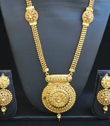Buy Fine design long necklace set black-friday-deal-sale online