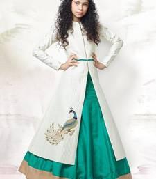 Buy Fashionlife gimme more kid's Bnglori silk Lehenga embroidered lehenga choli kids-lehenga-choli online
