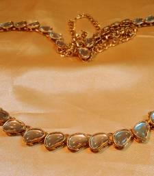 Buy fashionwear kundan stone waistbelt waist-belt online