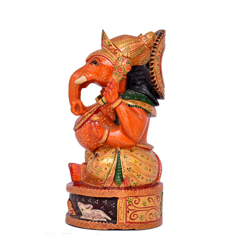 Buy god of good luck handmade ganesh statue idol for home for Good luck home decor