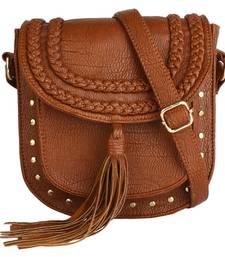 Buy Rust PU Hana Sling Bag sling-bag online