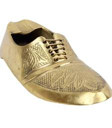 Buy Boutique Shoe Brass Ashtray 156 tray online