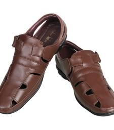 Buy Brown Sandals men-shoe online
