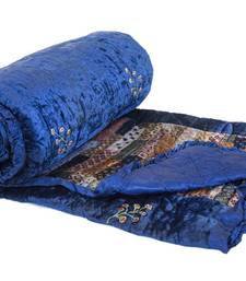 Buy Velvet Patch work Quilt quilt online