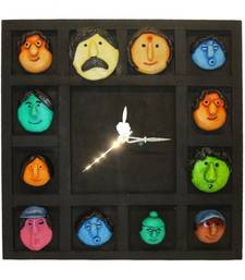 Buy Family Mask Wall Clock Hanging wall-clock online