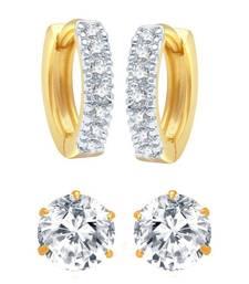 Buy Multicolor cubic zirconia jewellery-combo combo-earring online
