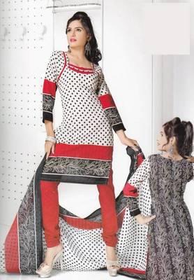 Dress Material Cotton Designer Prints Unstitched Salwar Kameez Suit D.No B10008