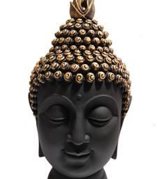 Buy India Polyresine Buddha Head Showpiece sculpture online