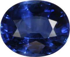 10.25 carat natural blue shappire (neelam) gemstone with lab certified