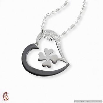 Melamine Polish Heart Pendant