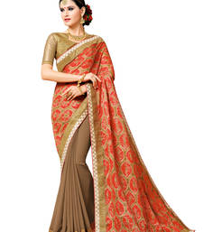 Buy Multicolor Manipuri Prints Saree With blouse Woman online