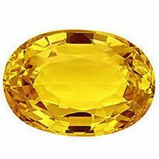 5.5ct Yellow Sapphire