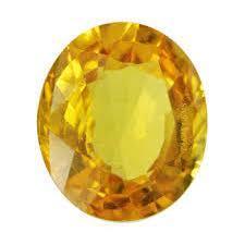 10.5ct yellow topaz gemstone