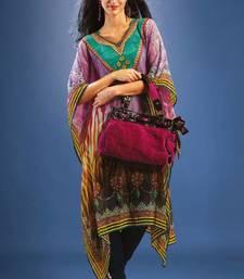 Buy Multi Colour Georgette Digital Printed Kaftan kaftan online