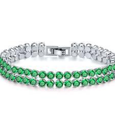 Buy Green crystal bangles-and-bracelets bangles-and-bracelet online