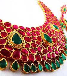 Buy Beautiful multicolor jewellery Necklace online