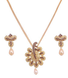 Buy Multicolor diamond pendants jewellery-below-500 online