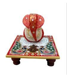 Buy Marble Chowki Ganesh congratulation-gift online