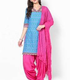Buy Magenta Solid Patiala Salwar With Dupatta - PAT5 patialas-pant online