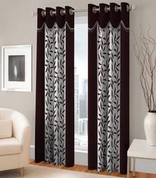 Buy Window Eyelet Curtain Set Of 2 curtain online