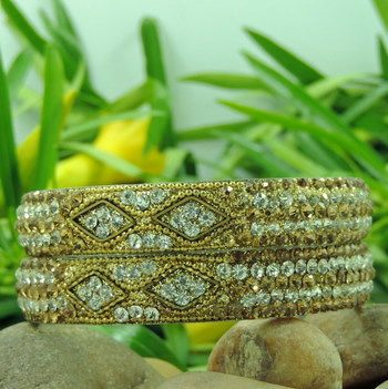 RAJASTHANI handmade Bangle (Golden)