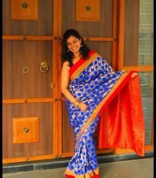 Buy Bridal Saree brocade-saree online