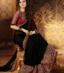 Buy Black embroidered