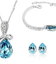 Buy WaterDroplet Necklace Bracelet Set Pendant online