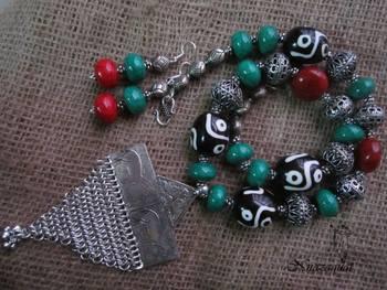Camelbone Amulet Necklace