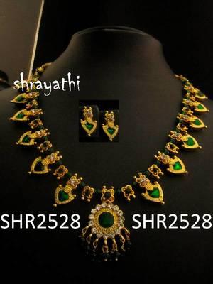 Traditional  palakka necklace