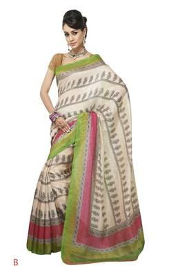 bhagalpuri style E7501B saree