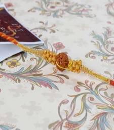 Buy Designer rudraksha-rakhi rudraksha-rakhi online