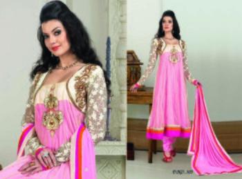 Styloce Pink Color Designer Salwar Kameez .STY-102-305