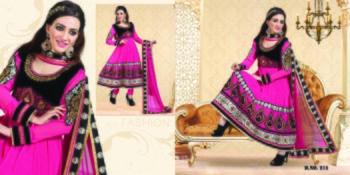 Styloce Pink Color Designer Salwar Kameez .STY-101-211