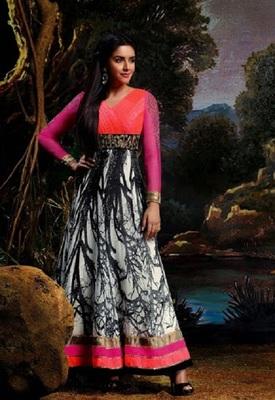 Gorgeous asin in new arrival designer salwar kameez