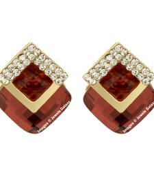 Buy Red emerald earrings jewellery-below-500 online