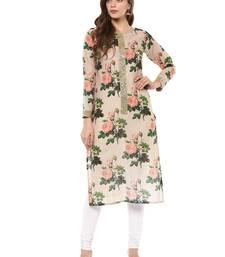 Buy Multicolor printed cotton stitched kurtas-and-kurtis kurtas-and-kurtis online
