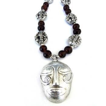 Tribal man: Brown/004Brown