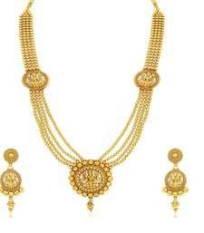 Buy Traditional laxmi ji Five layers Gold plated Necklace set( Beaded Necklace) necklace-set online