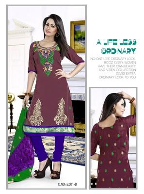 Maroon Color Designer salwar Kameez