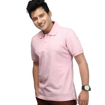 Light Pink : Premium Polo