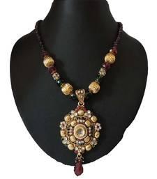 Buy Gold agate necklaces jewellery-below-300 online