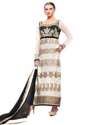 straight georgette dress